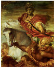 The Four Horsemen of the Apocalypse, George Frederick Watts- Horse Art on Canvas