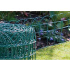 Garden Green Pvc Coated Border Fence Wire Mesh 10m/20m/30m/40m X 0.25m Fencing