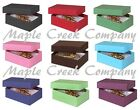 Set of 5 Small Jewelry Boxes with Cotton Insert FOR GIFT WRAPPING  CRAFTS