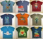 Boys top MINI BODEN T shirt short sleeve 2 3 4 5 6 7 8 9 10 11 12 years NEW!
