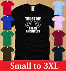TRUST ME IM AN ARCHITECT MENS T-SHIRT S M L XL 2XL 3XL design civil architecture