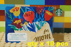 STARBUCKS 2016 FOR MOM x10 Pcs Gift Cards $0 DOLLAR VALUE Collector's IteM