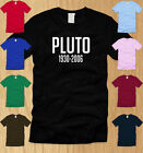 RIP PLUTO - MENS T-SHIRT SMALL funny planet science geeky nerdy nasa tee S