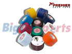 2 x  PREMIER SOCK TAPE PST SHIN PAD GUARD RETAINER TAPE 38MM - VARIOUS COLOURS