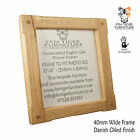 Handmade Solid Oak wood standard Picture / Photograph / Photo Frame / Frames