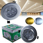 1W LED Recessed Ceiling Light Downlight Cabinet Fixture Kitchen Spotlight Lamp