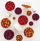 1 x Silicone Flexi Leopard Plugs - Choose Your Colour And Size