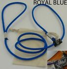"1/4"" Royal Blue Slip Lead (6 Pack starting at $8.99) Made In USA dog leash"