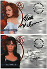 A2 A8 Holly Marie Combs Rose McGowan Auto Trading Card Charmed Autograph TV