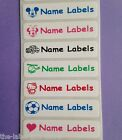 25 Stick on Children School Name Labels Stickers Tags ~ You choose your image