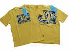 NEW ANIMAL 2013 BOYS HOVER CITRUS YELLOW SURF/SKATER T SHIRT TOP.AGES 7-16 YEARS