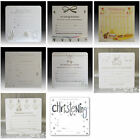 Luxury Foiled Christening Invitations - Pack of 10