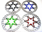 Quaxar Axim ultralight floating disc brake rotor 180 mm 180mm, 5 colours + bolts
