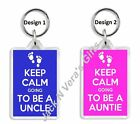 Keep Calm New Auntie / Uncle Pregnant, Pregnancy Baby Gift Maternity Keying