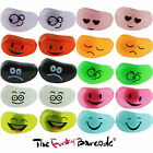 FUNKY JELLY BEAN FACE STUD EARRINGS GIRLS CUTE KITSCH SWEET CANDY QUIRKY KAWAII