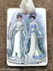 Hang Tags  VICTORIAN WEDDING BRIDE TAGS or MAGNET #607  Gift Tags