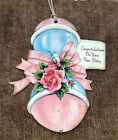 Hang Tags RETRO NEW BABY RATTLE TAGS #665  Gift Tags