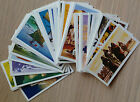 Brooke Bond-Adventurers and Explorers-50 Cards-LAMINATED-Individual-1973-Vintage