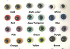 12 PAIR 6mm to 12mm SPARKLE Plastic Safety Eyes teddies,sewing, crochet  #SRP-1