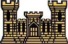 Home Decorating Planning U.S. Army Engineer Castle Wall Window Vinyl Decal Sticker Military Free Home Decor Samples