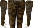 Womens Ladies Army Military Camouflage Cargo Combat Pants jeans Linen Trousers