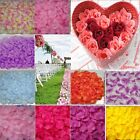Silk Rose Petals Ideal For Engagement Wedding Birthday Celebrations 100-1000pcs