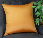 FixedPriceaiking home solid faux silk euro sham / throw pillow cover, ( pack of 1 )