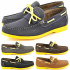 New Men's Casual Formal Smart Boat Shoes with lace Detail Size 6 7 8 9 10 11