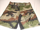 US ARMY RANGER COMBATANT MMA PT WOODLAND BOARD SHORTS FIGHT SHORTS SIZES S - 3XL