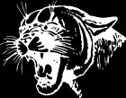 Cougar Window Wall Vinyl Decal Sticker Printed Mascot Graphic