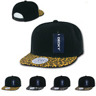 Kyпить DECKY ANIMAL PRINT RETRO FLAT BILL HATS BASEBALL CAPS SNAKE LEOPARD SKIN на еВаy.соm