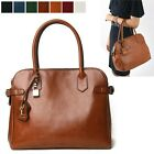 WOMEN'S HANDBAG  ESDER VINTAGE TOTE ST SHOULDER CROSS BAG REAL COWHIDE LEATHER