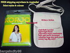 KORJO Zip Money Passport ID Ticket Card iphone Neck Pouch Body Travel Wallet Bag