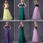 Prom Bridesmaid Beach Dress Evening Party Wedding Homecoming Ballgown Dresses UK