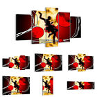 44 Shapes PREMIUM Canvas Picture/Print Wall Art Abstract Modern-Art 0686 en