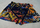 Superman Men's Boxers Size Small(28/30) Multi-color,Action Graphics All Over~
