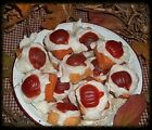 WEE FROSTED PUMPKIN TARTS,,,BY THE 1/2 POUND OR POUND;;;;;;