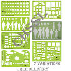Jakar Stencils Templates Drawing Select From 7 Various Designs New