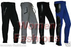 New Ladies Women Cuffed Track Bottoms Sports Gym Jogging Sweat Pants Trousers