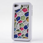 Hot Luxury Bling Diamonds Crystal Rhinestone Case Cover For iPhone4 4S 5 5G 45SQ