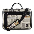 12.1 inch Laptop pouch bag case Pattern of Newspaper pont macbook air 13 New