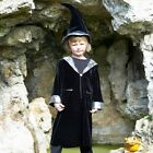 KIDS/BOYS  FANCY DRESS WIZARD & CROOKED HAT 3-5 YEARS / 6-8 YEARS