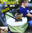 Pet Booster Seat Car Seat Carrier Car Auto Leash Faux Sheepskin Lining 3 COLORS