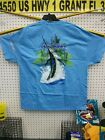 GUY HARVEY PALM TREE SPLASH T-SHIRT MTH1759-ABLU (98) ghtees4u