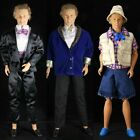 Handmade Fashion Clothes for Ken Doll Evening Dress Sporting Blue Party Outfits