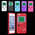 Retro Gameboy Silicone Soft Back Case Cover Skin Protector For Apple Iphone 5 5G