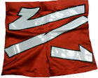 Red HBK Biker Style Pro Wrestling Shorts, WWE TNA IMpact ROH WCW Shawn Michaels