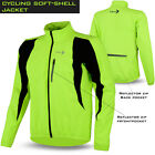 Mens Cycling Jacket Winter Fleece Thermal Long Sleeve Windproof Bike Riding Coat