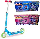 OZBOZZ RODEO PINK BLUE FOLDING LIGHT UP WHEELS CHILDRENS SCOOTER TOY XMAS GIFTS