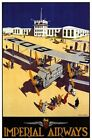 Vintage Imperial Airways  Poster A3 / A2  Reprint